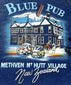 Das Blue Pub in Methven – eine Institution