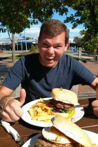 Letztes gemeinsames Wochenend-Essen: Burger & Bier