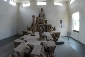 Skulpturen im Cham-Museum, Da Nang