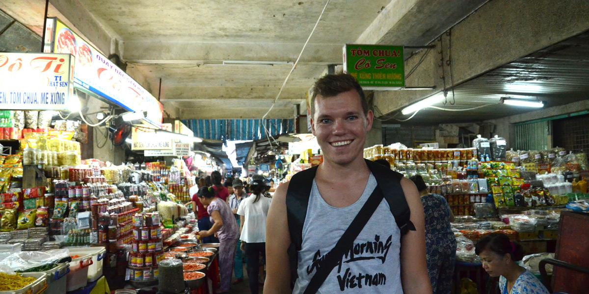 Besuch des städtischen Markt-Labyrinths