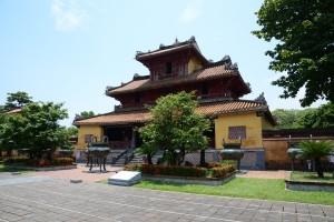 Einer der vielen Tempel in Hues Zitadelle