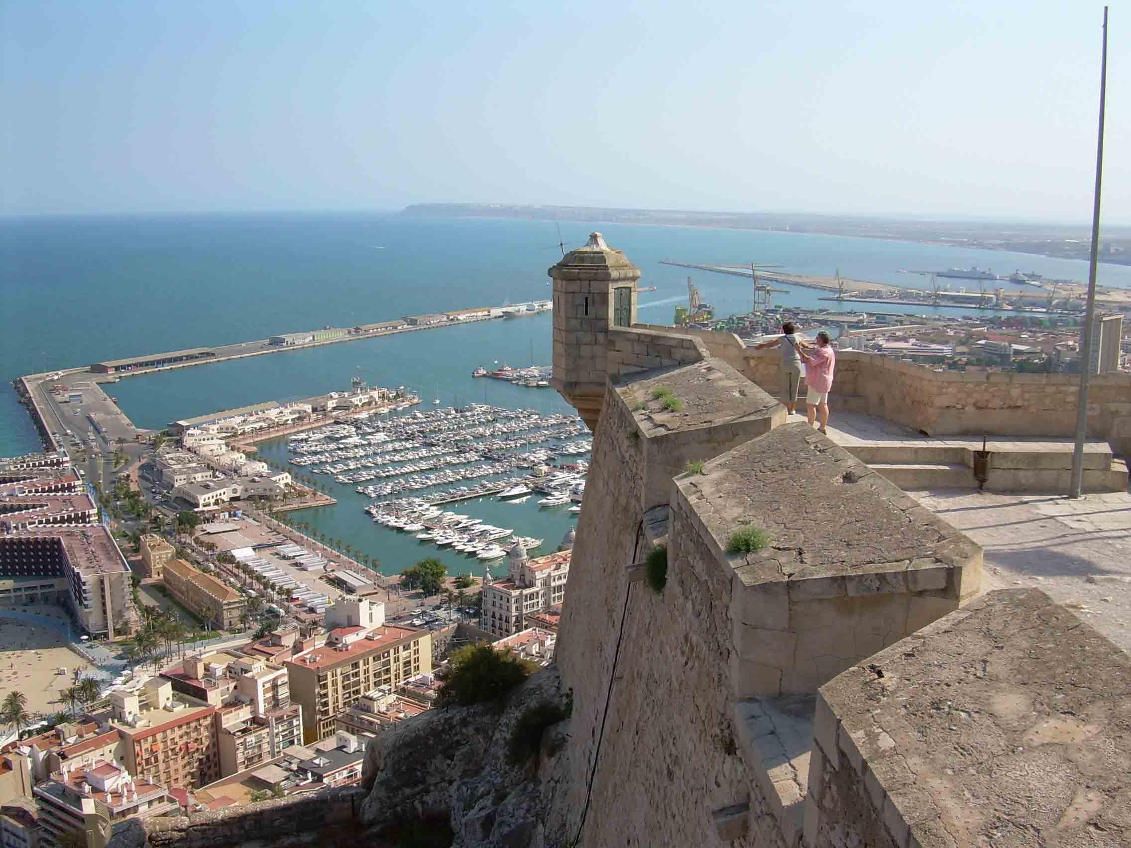 Ausblick Alicante