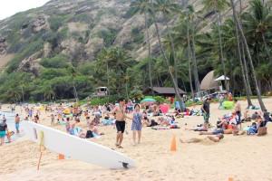 Aloha-Usa-Annika-strand-menschen