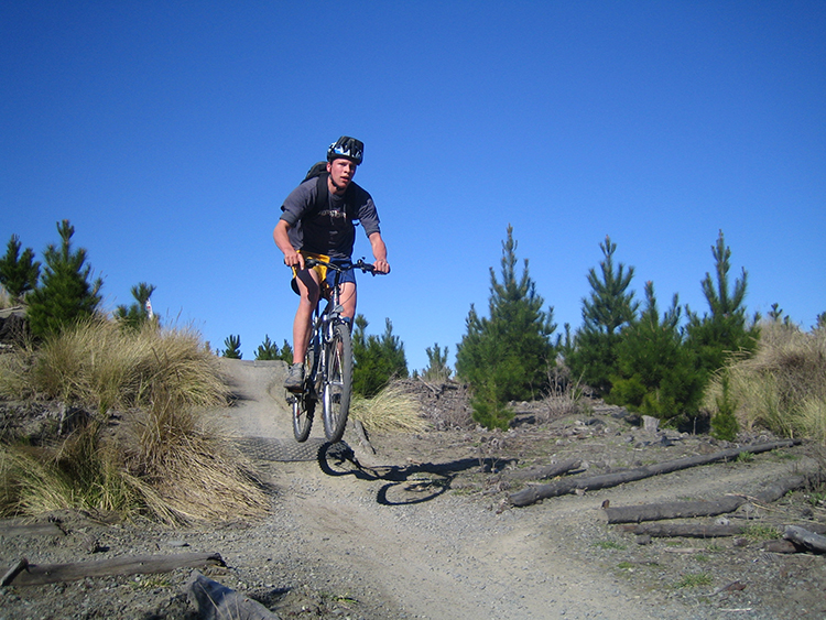 Mountainbiking in Neuseeland