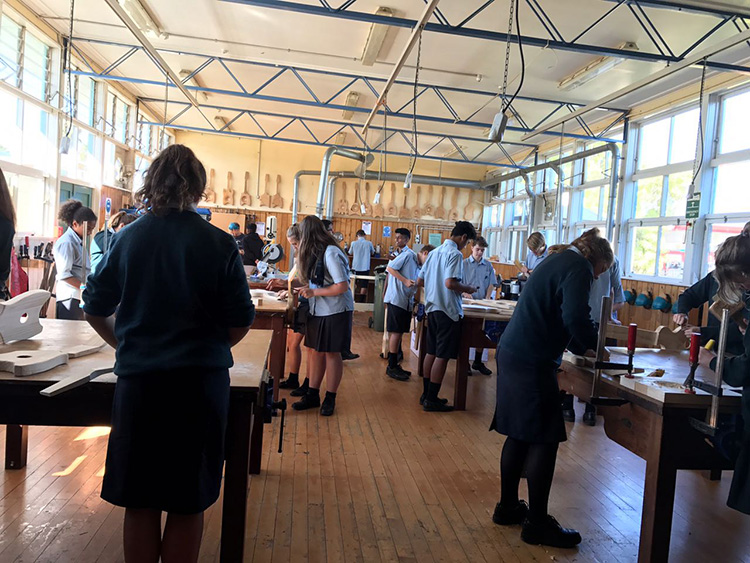 Woodwork Class