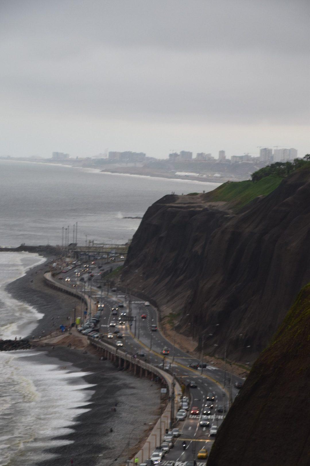 Uferstraße in Lima.