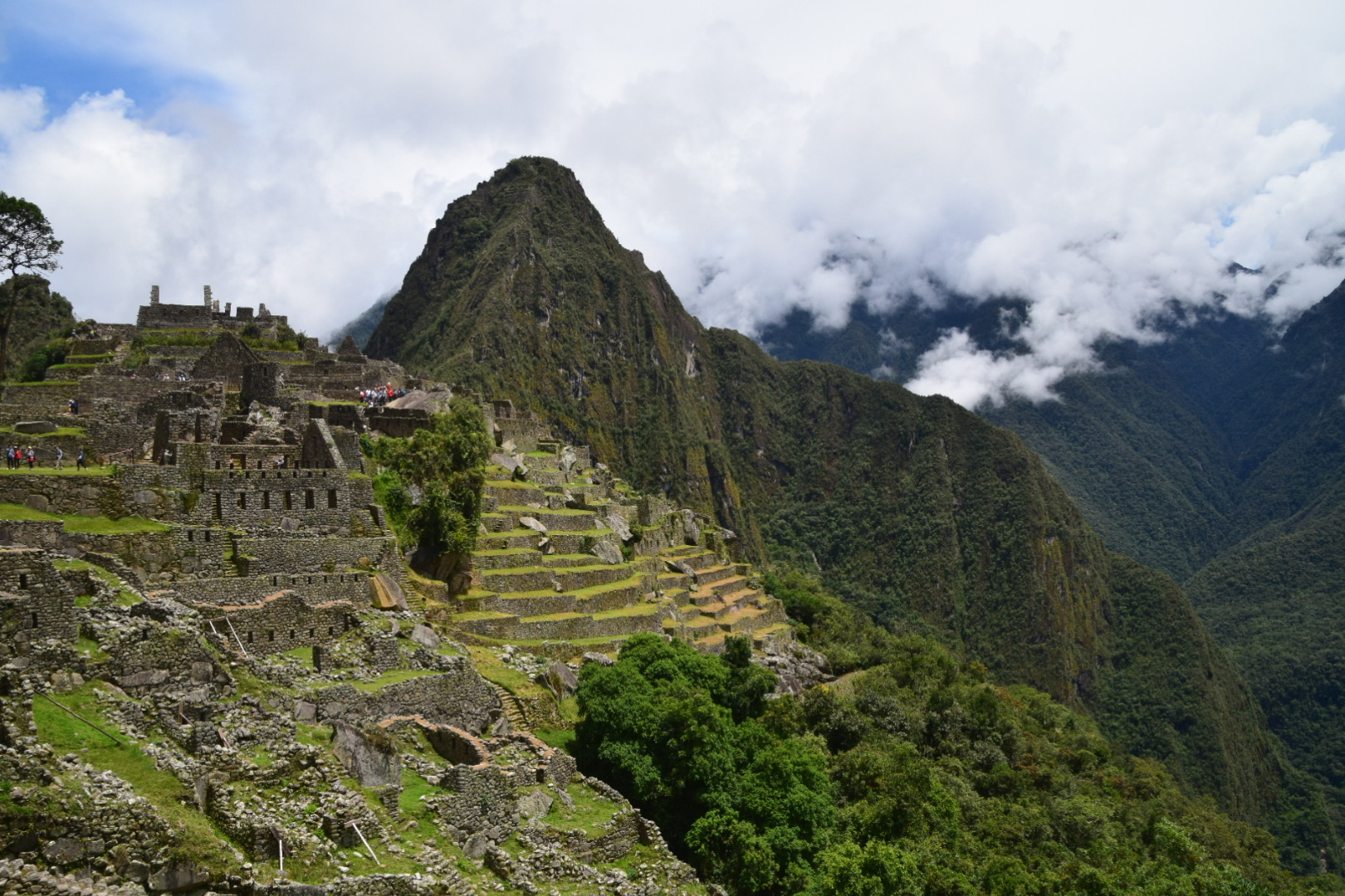 Die wohl größte Attraktion Perus: Machu Picchu.