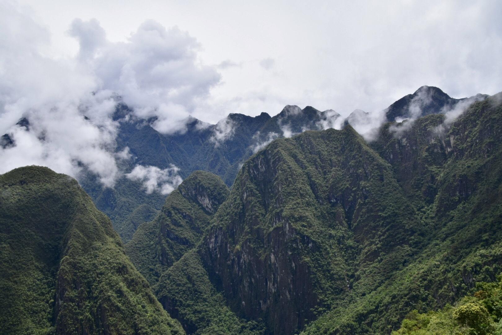 Peruanische Anden.