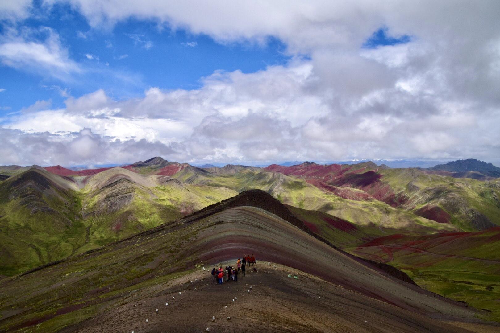 Der Rainbow Mountain.