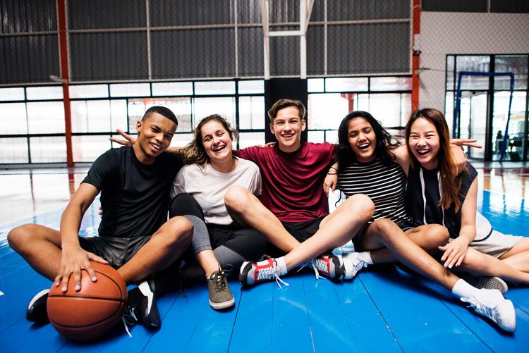 High School-Jahr im Internat: vielfältige Freizeitaktivitäten wie z.B. Sport