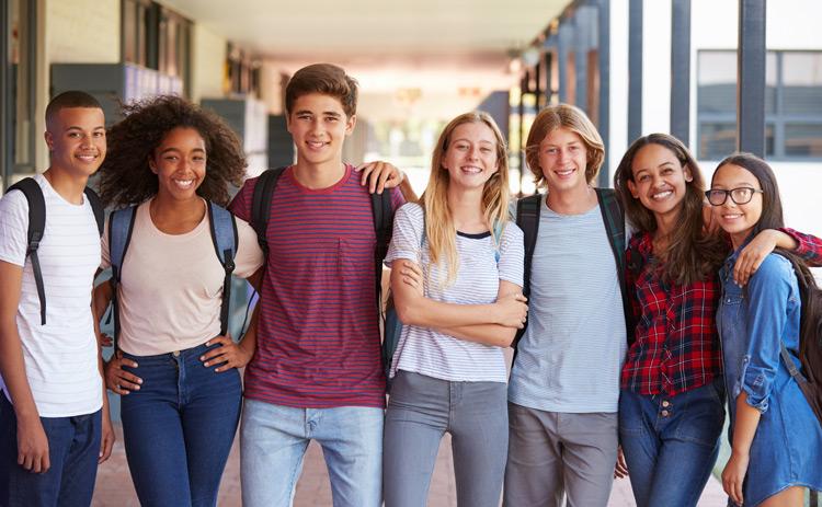 High School-Jahr im Internat: internationale Schüler