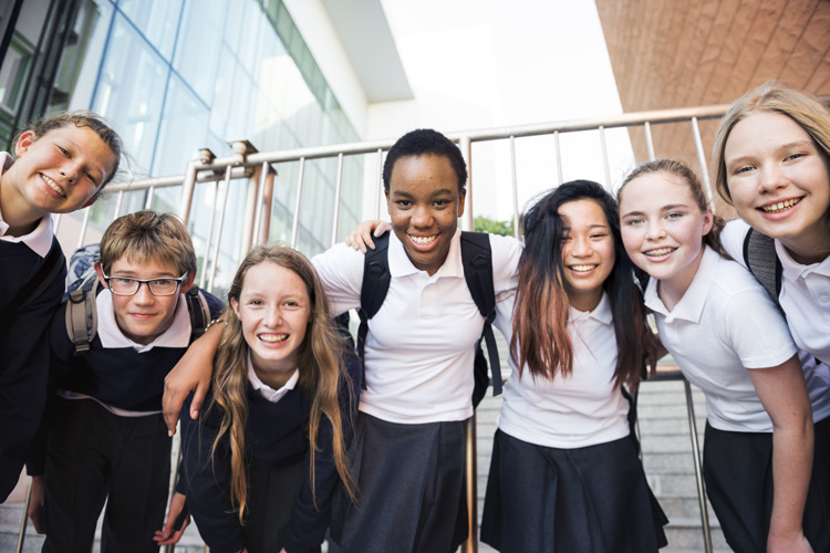 High School-Jahr Internat Austauschschüler